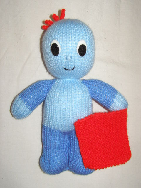 Knitting Pattern For Iggle Piggle Toy : Night Garden